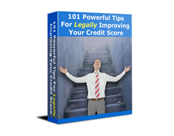 Free PLR eBook – 101 Powerful Tips for Legally Improving Your Credit Score