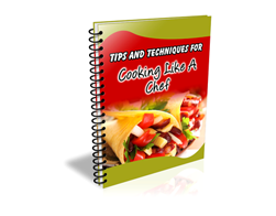 Free PLR eBook – 101 Tips and Techniques for Cooking Like a Chef
