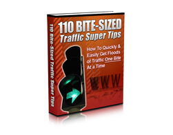 Free MRR eBook – 110 Bite-Sized Traffic Super Tips