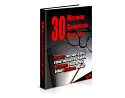 Free PLR eBook – 30 Maximum Conversion Rate Tips