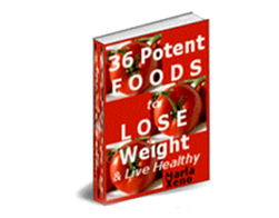 Free PLR eBook – 36 Potent Foods to Lose Weight & Live Healthy