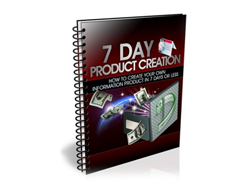 Free MRR eBook – 7 Day Product Creation