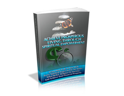 Free PLR eBook – Achieve Prosperous Living through Spiritual Empowerment