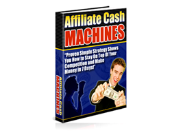 Free PLR eBook – Affiliate Cash Machines