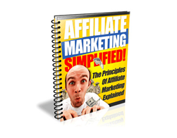 Free PLR eBook – Affiliate Marketing Simplified