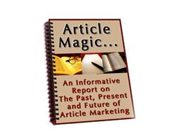 Free PLR eBook – Article Magic