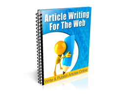 Free PLR Newsletter – Article Writing for the Web