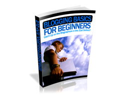 Free PLR eBook – Blogging Basics for Beginners