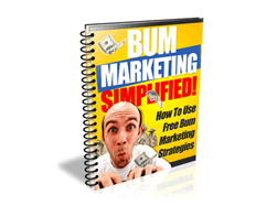 Free PLR eBook – Bum Marketing Simplified