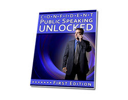 Free PLR eBook – Confident Public Speaking Unlocked
