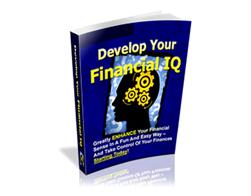 Free PLR eBook – Develop Your Financial IQ
