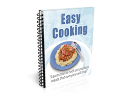 Free PLR Newsletter – Easy Cooking