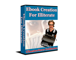 Free PLR eBook – Ebook Creation for Illiterate
