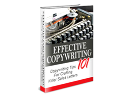 Free PLR eBook – Effective Copywriting 101