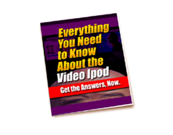 Free PLR eBook – Everything You Need to Know about the Video iPod