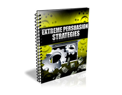 Free PLR eBook – Extreme Persuasion Strategies