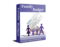 Free PLR eBook – Family Budget