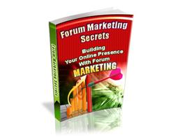 Free PLR eBook – Forum Marketing Secrets
