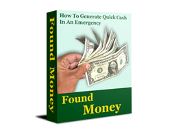 Free PLR eBook – Found Money