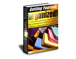 Free PLR eBook – Getting Yourself Organized!