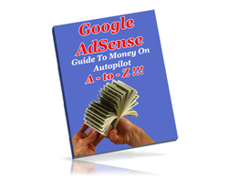 Free PLR eBook – Google AdSense A-to-Z