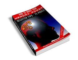 Free MRR eBook – How to Boost Your Memory Power