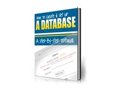 Free PLR eBook – How to Create & Setup a Database
