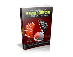 Free MRR eBook – How to Create a Membership Website to Sell on ClickBank