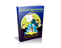 Free MRR eBook – How to Identify Business Opportunities and Make the Most of Them