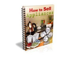 Free PLR eBook – How to Sell Appliances