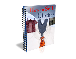 Free PLR eBook – How to Sell Clothes