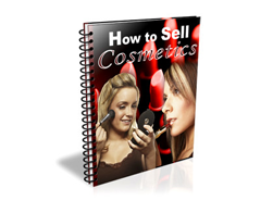 Free PLR eBook – How to Sell Cosmetics