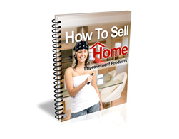 Free PLR eBook – How to Sell Home Improvement Products