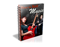 Free PLR eBook – How to Sell Music