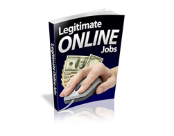 Free PLR eBook – Legitimate Online Jobs