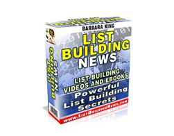 Free PLR eBook – List Building News