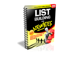 Free PLR eBook – List Building for Newbies