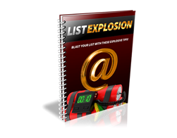 Free PLR eBook – List Explosion