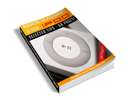 Free MRR eBook – Maximizing the Performance of Your iPod
