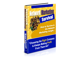 Free PLR eBook – Network Marketing Survival