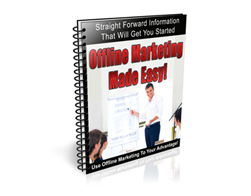 Free PLR Newsletter – Offline Marketing Made Easy
