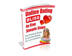 Free PLR eBook – Online Dating Bliss in Five Simple Steps