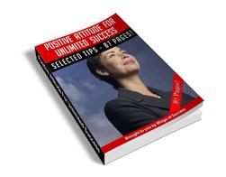 Free MRR eBook – Positive Attitude for Unlimited Success