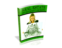 Free PLR eBook – Real Estate Investment Secrets