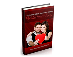 Free PLR eBook – Romantic Ideas for a Memorable Valentine's Day