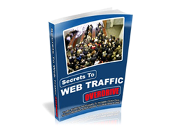 Free PLR eBook – Secrets to Web Traffic Overdrive