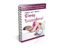 Free PLR Newsletter – Sleep Disorders