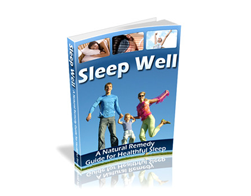 Free PLR eBook – Sleep Well