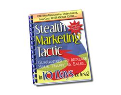 Free PLR eBook – Stealth Marketing Tactic