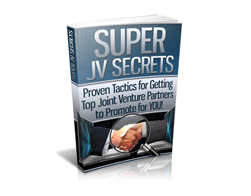 Free PUR eBook – Super JV Secrets